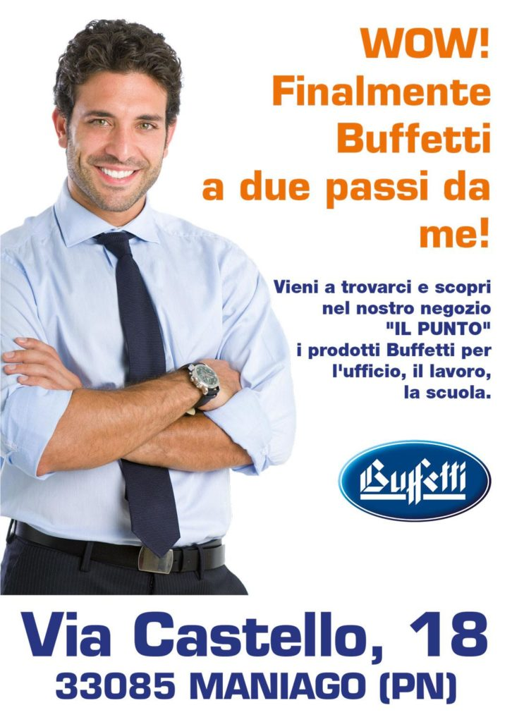 Corner Buffetti Il Punto Renato Sala Forniture Per L Ufficio